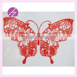 Chinese homemade traditional paper cut/folk arts wall decoration with beautiful butterfly home decoration JZ-39
