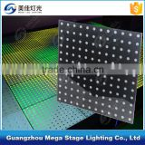 night club wedding decoration portable video interactive led dance floor