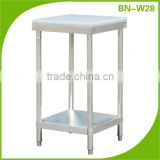 Stainless Steel Kitchen Work Table With Cutting board/ Chopping Board Desk With Under Shelf BN-W28