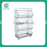 bakery cooling rack trolley