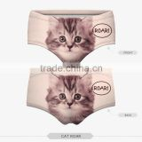 hot panties pug dog cut cat sexy girls tight lingerie stretchy underpanties high quality 3d digital full print custom hot sale