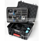 High quality waterproof shockproof large carry case bag for gopro accessories hero 1 2 3 3+
