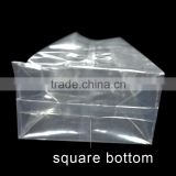 transparent food grade stand up pouches for snacks packing