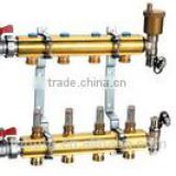 manifold/brass manifold/valve/brass valve/high quality brass valve/floor heating