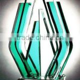 clear and any color acrylic sculpture,like glass material, acrylic trophy,display