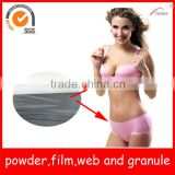 TPU/Thermoplastic Polyurethane hotmelt adhesive film for underwear/garment seamless lamination