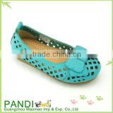 Latest design name brand fashion children shoes leather for girl