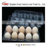 Manufacture sale PET PP Egg tray packing plastic quail egg tray 4/6/8/10/12/15/18/24/30 eggs                                                                                         Most Popular