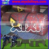 XIXI TOYS oil barrel shape inflatable paintball bunker                                                                         Quality Choice