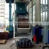 CE Tumble Rubber Belt Shot Blasting Machine / Rubber Tracked Type Shot Blasting Machine from DH group with high quality