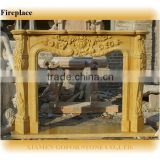 Nice carved discount fireplace mantels