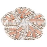 Crystal Rhinestone Buttons for Embellishment Snowflakes drill DIYshoe garment accessory