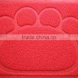 high quality 3kg per sqm any type welcome logo pvc coil door mat