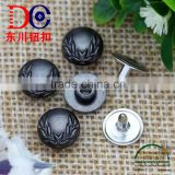 Hot Sale Brass Garment Jeans Buttons Rivets Stud Rivets for Pocket