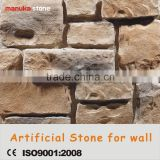 Manufactured Faux Stone country side decoration, manufactured wall stone veneer,cultured stone panel