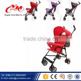 "Portable smart 5"" tire Baby stroller wheels / European standard baby stroller / cheap baby stroller pram factory from China"