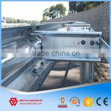 2016 Hot Sale Guardrail Beam Galvanized Traffic Road Safety W Beam Crash Barrier Supplier
