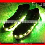 RF Remote Control LED Light Up Dance Shoes, LED Night Club Wear