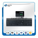 China USB Mini Mechanical Keyboard with smart Card Reader--HCC160
