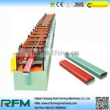 Hot sale aluminium round downpipe cold roll forming machine