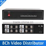 4CH In/8CH Output Professional 1080P/720P 1x 4ch Points 8ch Analog HD Video Splitter Support CVI/TVI/AHD Camera