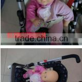 Three - six years old children's toys, baby stroller with iron cart doll baby cart house suit