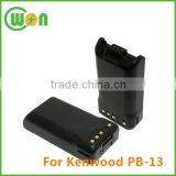 PB-13 battery replacement for Kenwood TH-47 TH-48 TH-78 TH-78A NI-CD 7.2V 700mAh battery pack for Kenwood Two Way Radio