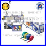 PVC coated water pipe production line/PVC coated water pipe making machine/water pipe making machine