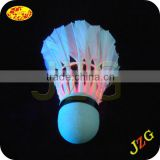 Badminton shuttlecock sale factory promotional led badminton shuttlecock 2015 popular led badminton sports equipment