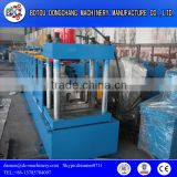 Steel rolling shutter door forming machine / door frame forming machinery for production line