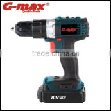 G-max Li-ion Battery Powered 18V Cordless Drill GT31012