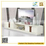 American European Style TV Stand Cabinet With Drawer Material Optional MDF Wood Glass Metal