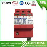 Solar combiner box equipment 3P 1000V DC High Voltage Surge protection