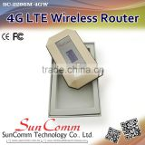 SC-2295M-4GW 4G LTE Mobile Wi-Fi Hotspot Router Easily share or through USB cable across your network
