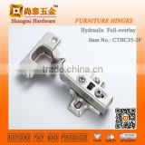 CTHC35-2F Two Holes Clip on Soft Closing Buffering Hydraulic Hinge For Cabinet