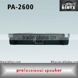 PA-2600 Professional stereo Dj music audio power amplifier used at stage speaker loudspeaker