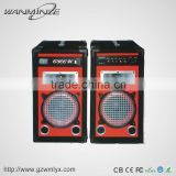 Commercial Good Bass 8inch Dj Sound Box Karaoke Speaker Music Player