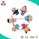 2015 Gift Customed Soft Factory Wholesale finger puppets and story