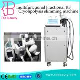 Increasing Muscle Tone 2016 New Skin Lifting Cryo Cavitation RF Cryolipolysis Slimming Machine