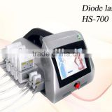Chinese Apolo CE&ISO Approved beauty machine lipolaser 658nm diode laser weight lose