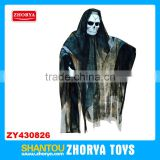 Hanging shaking ghost toys halloween decorative product shocking black ghost skeleton toys