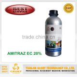 Hot sell Broad spectrum agrochemical acaricide Amitraz 20%EC pesticide manufacturer