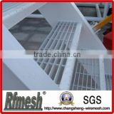 heavy duty hot dipped galvanized manual welded steel grating sewer cover well cover