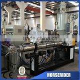 pvc fiber reinforced water use hose pipe making machine cost/PVC plastic braided enhaused reinforced hose pipe production line