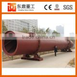 High drying temperature Ore sand rotary dryer/lime stone dryer widely used for drying slag, clay, limestone,