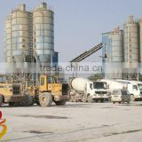 Computer-controlled HZS50 concrete mixing plant,batching plants