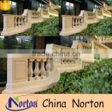 Western outdoor granite stairway railings and balusters NTMF-MB013Y