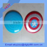 round shape color printed plastic sheet craft made by vacuum thermoformed blister factory