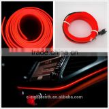 Neon LED Light Glow EL Wire Strip Rope Tube Car Interior Decor Lamp 12V