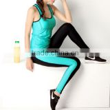 colorful compress bulk backless sexy gym wear yoga tank top,one piece yoga wear,women wholesale yoga pants